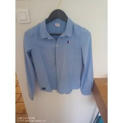 Vêtements Garçon Chemises manches longues Tap à l'oeil Chemise bleu ciel Garçon Bleu