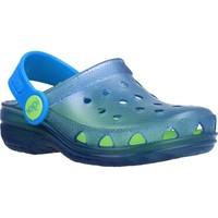 Chaussures Fille Sabots IGOR S10116 Bleu