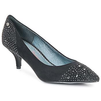 Chaussures Femme Escarpins Couleur Pourpre FADILE Noir