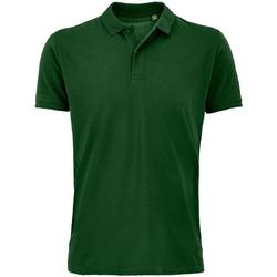 Vêtements Homme Polos manches courtes Sols 03566 Vert bouteille