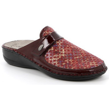 Chaussures Femme Chaussons Grunland CIABATTA GRÜNLAND - DARA ROUGE rouge