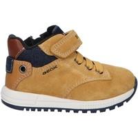 Chaussures Garçon Boots Geox B163CC 02213 B ALBEN Amarillo