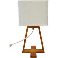 Maison & Déco Lampes à poser Esprit Nordique Grande Lampe de table esprit scandinave - Blanche Blanc