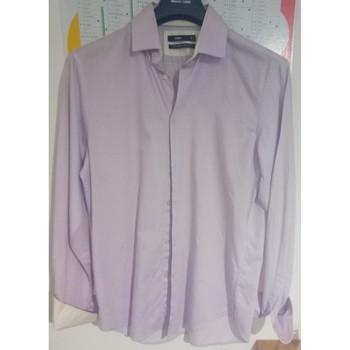 Vêtements Homme Chemises manches longues Celio Chemise homme rose ou violet Autres