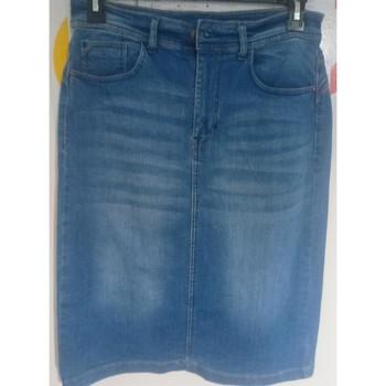 Vêtements Femme Jupes Plus Jupe en jeans Bleu