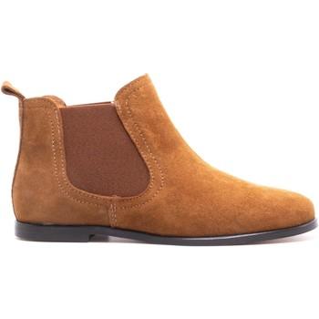 Chaussures Enfant Boots Boni & Sidonie Bottines en daim - GILDAS Daim Beige Foncé