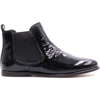 Chaussures Enfant Boots Boni & Sidonie Bottines en cuir vernis - GILDAS Vernis Noir