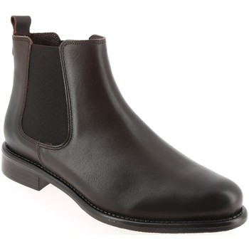 Chaussures Femme Boots We Do CO7745BE Cafe