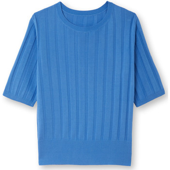 Vêtements Femme Pulls Balsamik Pull à côtes bleu
