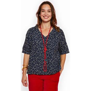 Vêtements Femme Malles, coffres de rangements Haut Large Oasis Haut Large Bleu NEIGE