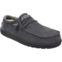 Chaussures Homme Derbies Dude Wally corduroy Gris foncé