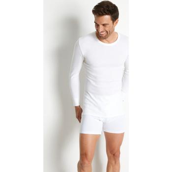 Sous-vêtements Homme Maillots de corps Honcelac Lot de 2 maillots de corps coton/laine blanc