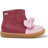 Chaussures Fille Bottines Camper Baskets cuir Pursuit FW rose