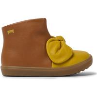 Chaussures Fille Bottines Camper Baskets cuir Pursuit FW marron