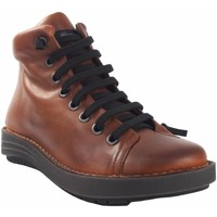 Chaussures Femme Baskets montantes Chacal Lady   5623 en cuir de démarrage Marron