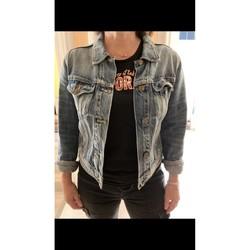 Vêtements Femme Vestes en jean School Rag Veste en jean Bleu