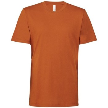 Vêtements Homme T-shirts manches courtes Bella + Canvas CA3001 Orange brique