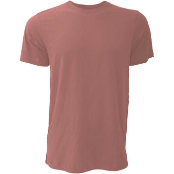 Vêtements Homme T-shirts manches courtes Bella + Canvas CA3001 Mauve