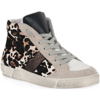 Chaussures Femme Baskets montantes At Go GO 4146 CHICCO BIANCO Bianco