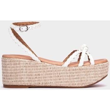 Chaussures Femme Sandales et Nu-pieds Pedro Miralles Bolton blanc