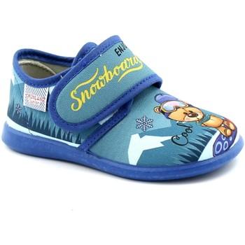 Chaussures Enfant Chaussons Grunland GRU-I21-PA0666-JE Blu