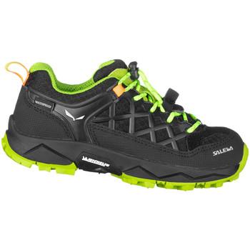 Chaussures Enfant Randonnée Salewa Jr Wildfire Wp 64009-0986 zielony