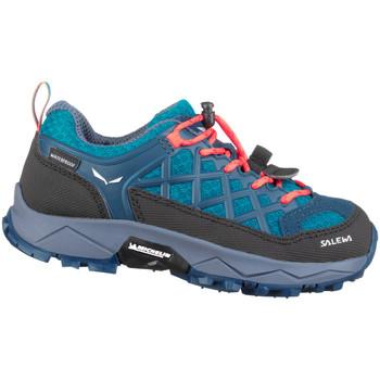 Chaussures Enfant Randonnée Salewa Jr Wildfire Wp 64009-8641 niebieski