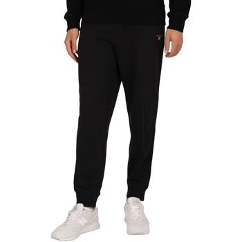 Vêtements Homme Pantalons de survêtement Gant Joggeurs originaux noir