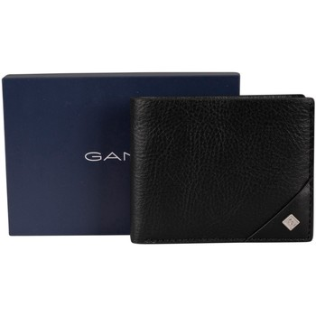 Sacs Homme Portefeuilles Gant Portefeuille en cuir à logo noir