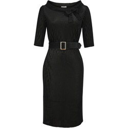 Vêtements Femme Robes longues Chic Star 86530 Noir