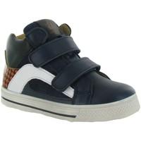 Chaussures Garçon Baskets montantes Acebo's 3174 Bleu