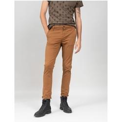 Vêtements Homme Chinos / Carrots Deeluxe Pantalon COTTAGE Chestnut