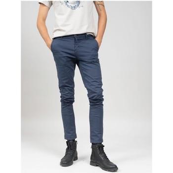 Vêtements Homme Chinos / Carrots Deeluxe Pantalon COTTAGE Navy