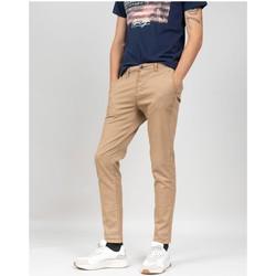 Vêtements Homme Chinos / Carrots Deeluxe Pantalon ALMA Camel