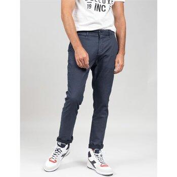 Vêtements Homme Chinos / Carrots Deeluxe Pantalon ALMA Navy