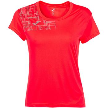 Vêtements Femme T-shirts manches courtes Joma - T-shirt arancione 901419.040 ARANCIONE