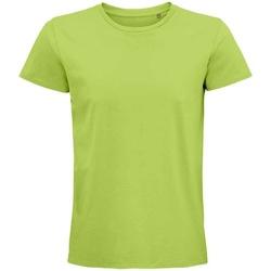 Vêtements T-shirts manches courtes Sols 03565 Vert clair