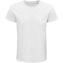 Vêtements T-shirts manches courtes Sols 03565 Gris clair