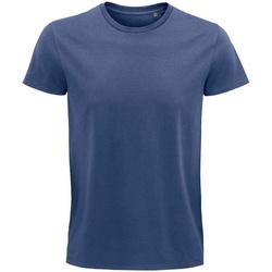 Vêtements T-shirts manches courtes Sols 03565 Denim