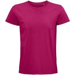 Vêtements T-shirts manches courtes Sols 03565 Fuchsia