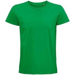 Vêtements T-shirts manches courtes Sols 03565 Vert