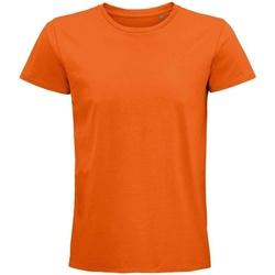 Vêtements T-shirts manches courtes Sols 03565 Orange