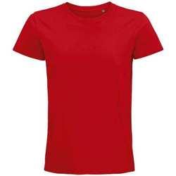 Vêtements T-shirts manches courtes Sols 03565 Rouge