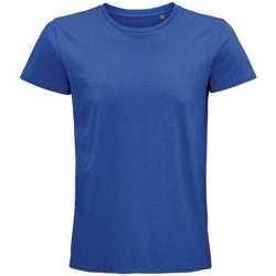 Vêtements T-shirts manches courtes Sols 03565 Bleu roi