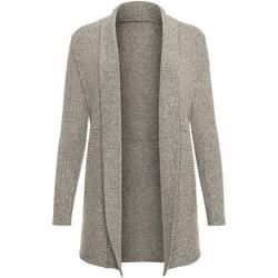 Vêtements Femme Gilets / Cardigans Lisca Veste cardigan manches longues Cosy  Cheek Gris