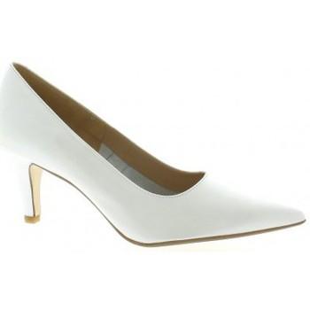 Chaussures Femme Escarpins Vidi Studio Escarpins cuir nacré Blanc