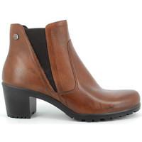 Chaussures Femme Bottines Enval BOTTINE  - DAHLIA COGNAC Multicolor