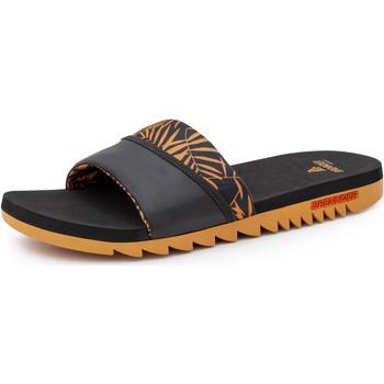 Chaussures Homme Tongs Brennder Sandals Onda Bamboo Orange Brique