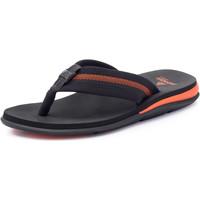 Chaussures Homme Tongs Brennder Sandals Br Max Gel Orange/Noir