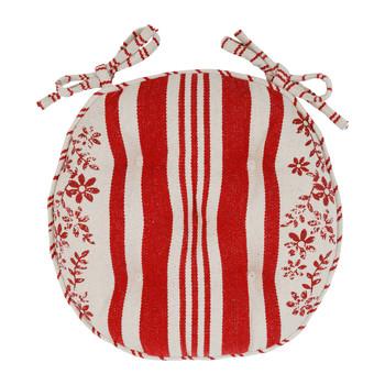 Maison & Déco Galettes de chaise Comptoir de famille TAPISSIER Rouge